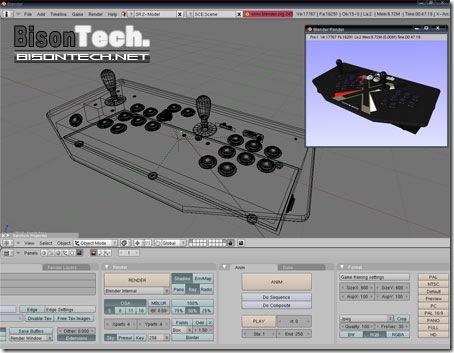 Blender, Modellazione 3D professionale