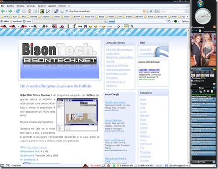 Desktop Side Bar, la barra di vista senza vista