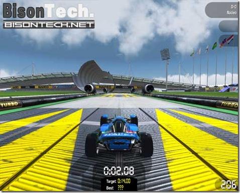 TrackManiaNations, salti corse contro il tempo il tutto multiplayer