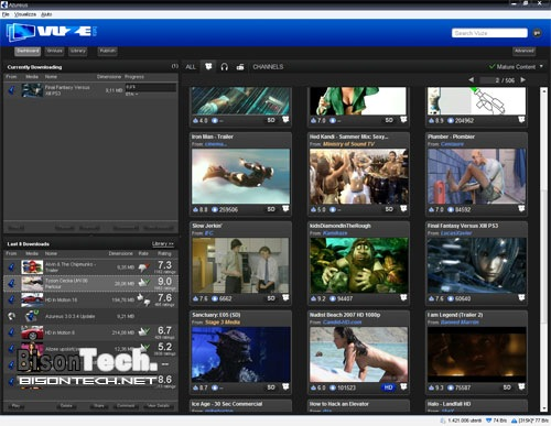 Azureus 3.0 il BitTorrent client di terza generazione.