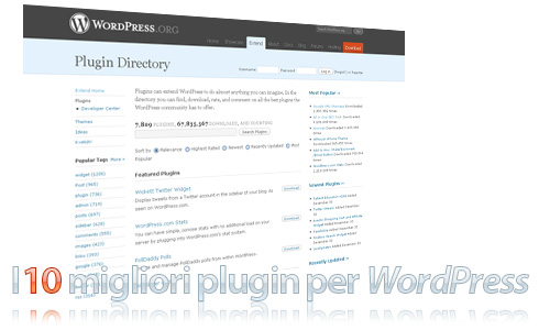 10 plugin essenziali per WordPress