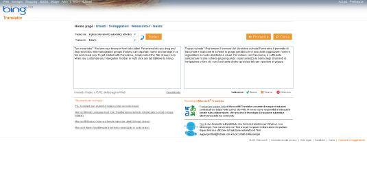 Microsoft Translator, la traduzione targata Microsoft