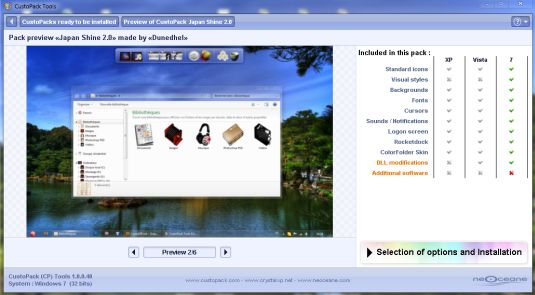 CustoPack Tools, cambiare il look a Windows 7/XP/Vista