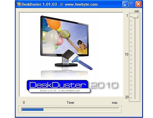 DeskDuster, nascondere le icone sul desktop con un click