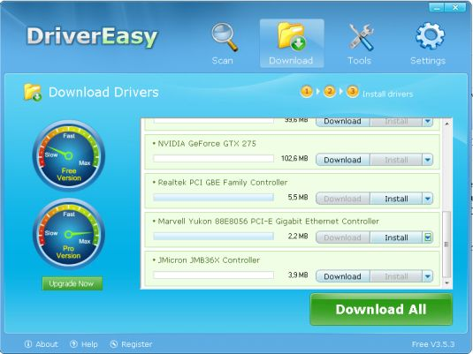 DriverEasy, teniamo i nostri driver sempre aggiornati