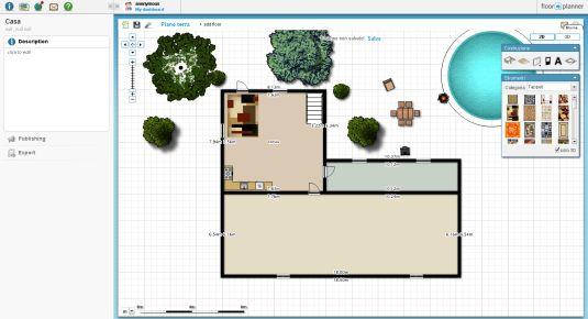 FloorPlanner, progettiamo la nostra casa online