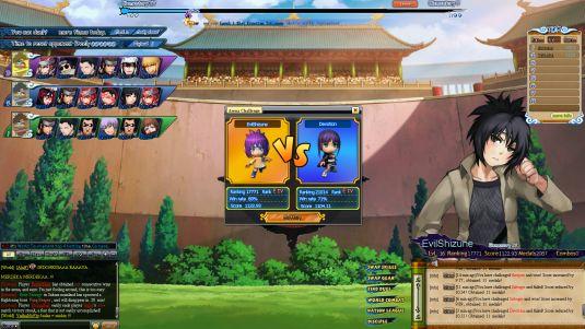 Pockie Ninja, il browser game flash dedicato al mondo di Naruto