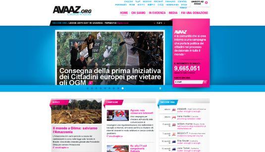Avaaz.org il mondo in azione ossia le decisioni al popolo!