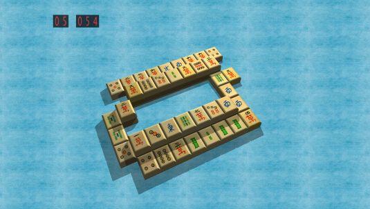 MahJongg Solitaire 3D, un gioco dedicato a MahJongg in 3d opensource