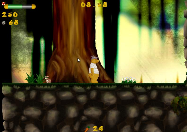 Plee The Bear, platform 2D opensource