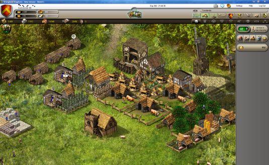 Stonghold Kingdoms, crea il tuo villaggio e espandi il tuo regno