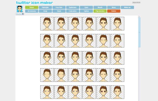 Twitter Icon Maker, creiamo il nostro avatar divertente e personalizzato