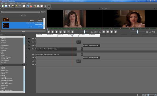 VideoLAN Movie Creator, editor video non lineare opensource