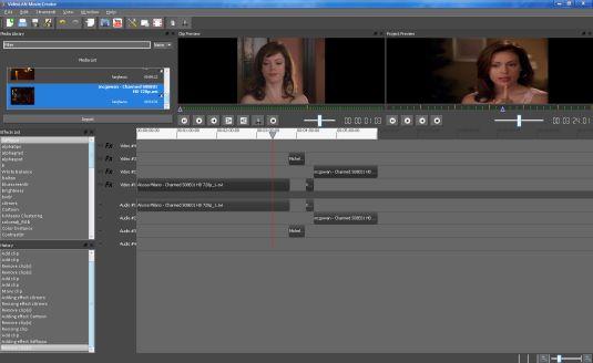 VideoLAN Movie Creator, editor video non lineare opensource