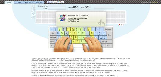 keybr.com, migliorare la velocità di scrittura con la tastiera