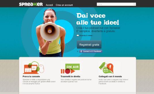 Spreaker crea la tua radio online gratis bisontech for Crea la tua planimetria gratis