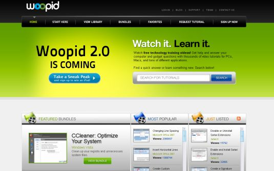 Woopid.com, video tutorial per ogni gusto