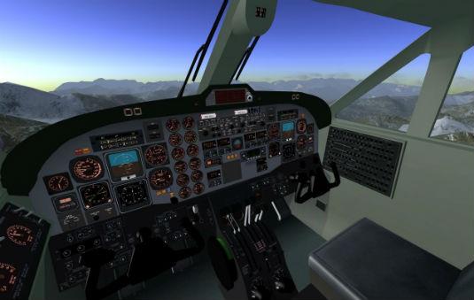 Flight gear il pi famoso e reale simulatore di volo for Costo di raccordo della cabina di log