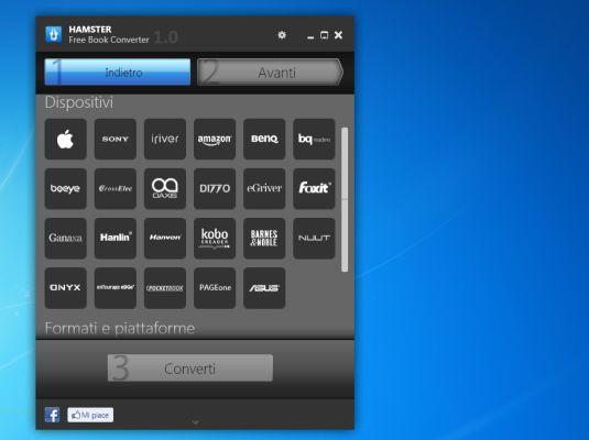Free E-Book Converter, come convertire un ebook in qualsiasi formato gratutamente