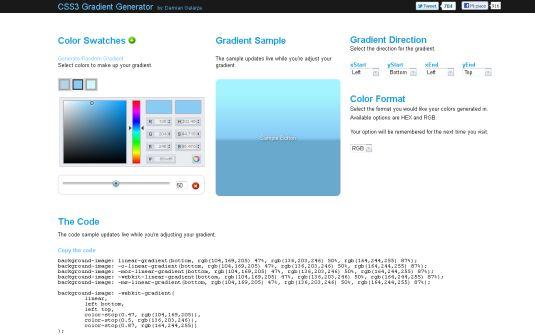 I migliori generatori web per web designer e grafici