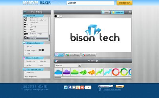 Logo Type Maker, crea il tuo logo personalizzato con questo innovativo editor web