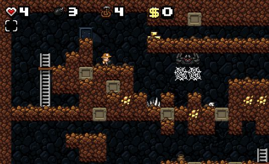 Spelunky World, platform freeware ispirato a Indiana Jones