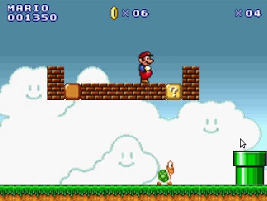 SuperMarioBrothers.org, Tantissimi giochi flash dedicati a Super Mario Bros