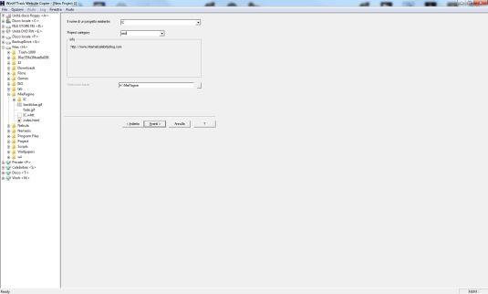 HTTrack, copiare un sito web con un click e leggerselo offline