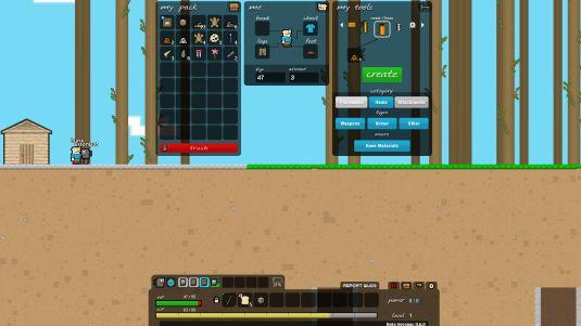 Epic Inventor, un clone 2D gratuito di MineCraft
