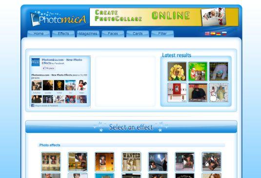 Aggiungi effetti alle tue foto direttamente for Effetti foto online
