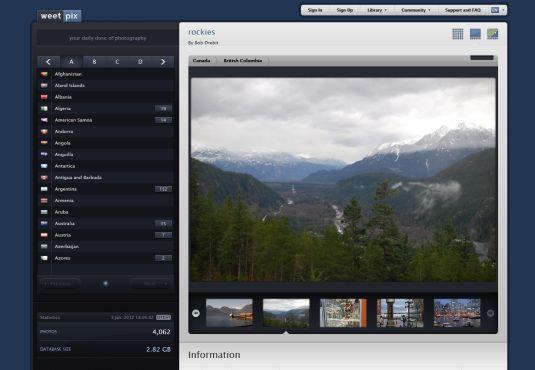 WeetPix, scopri il mondo attraverso le foto