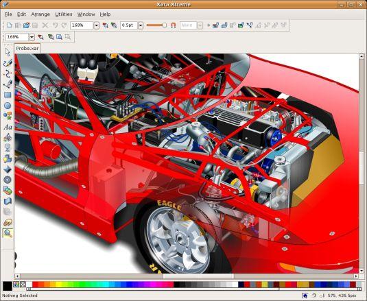 Xara Xtreme, progettiamo oggetti in 2D e 3D gratuitamente!