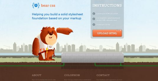 Bear CSS, crea documenti CSS partendo dall'HTML
