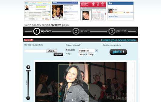 Mypictr, genera foto per il tuo profilo per i più famosi social network con un click