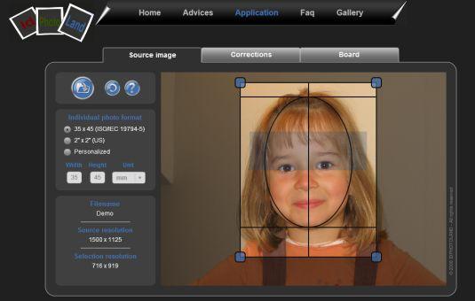 idphotoland  come stamparsi le foto in formato fototessera