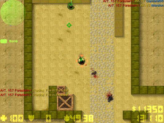 Counter Strike 2D, gioco 2D multiplayer rilasciato dalla Unreal gratis!