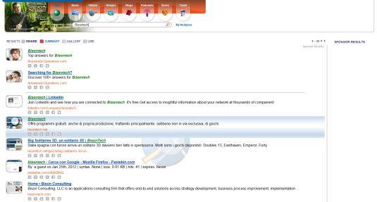 NeXplore, motore di ricerca sociale ben riuscito