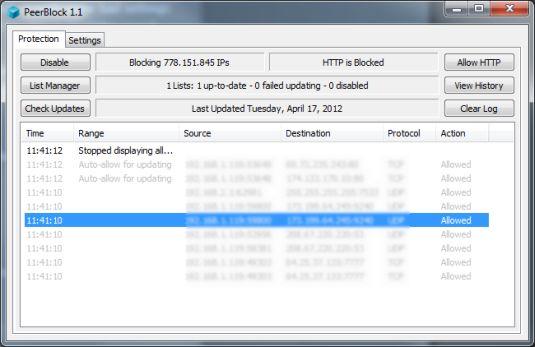 Peer Block, rendiamo i nostri download p2p più sicuri