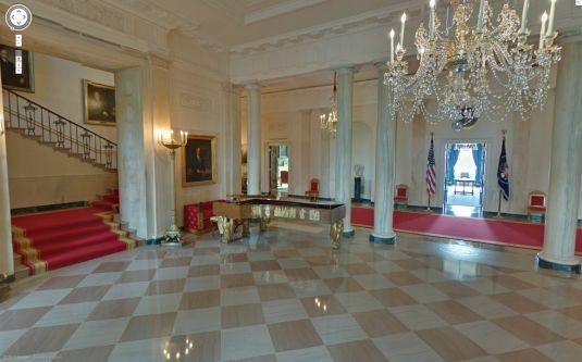 Visitare la casa bianca stando comodamente seduti al pc for Interno della casa