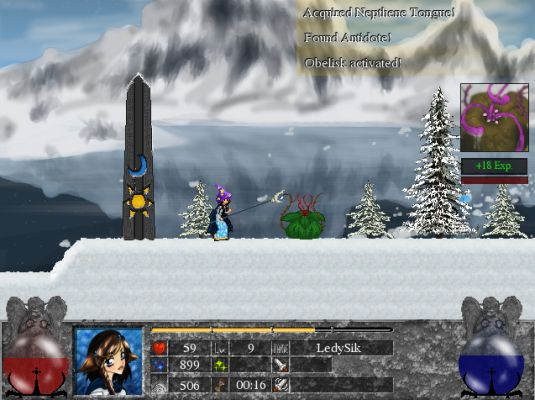 Ardentryst, un Platform/RPG 2D open source