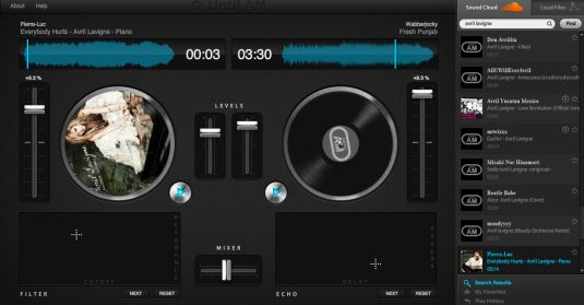 Until.AM un giradischi con mixer nel tuo browser