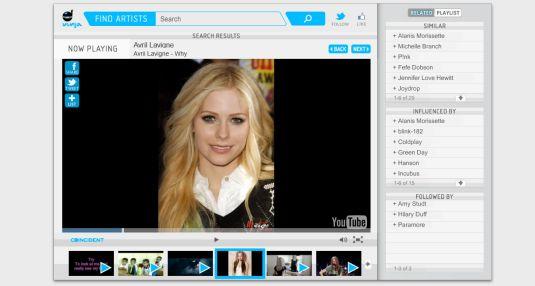 Vinja.tv un altro sito web per ascoltare musica attraverso Youtube