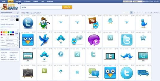 I migliori siti per la ricerca di icone gratis in formato png e ico
