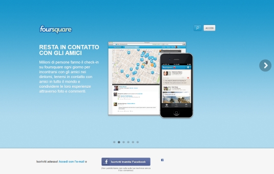 Foursquare, un social network basato sulla geolocalizzazione per ottenere divertimento e sconti nel mondo reale