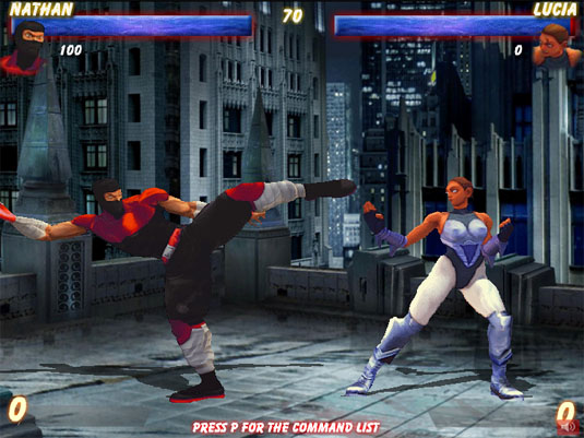 The Perfect Fight, bellissimo picchiaduro in stile Street Fighter in flash