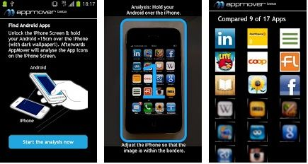 AppMover, applicazione per Android che trova alternative alle App iPhone