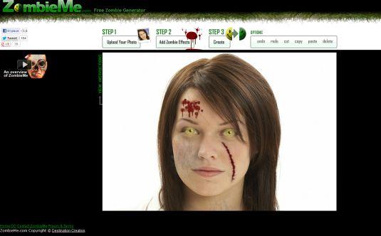 Trasformiamoci tutti in zombie con ZombieMe
