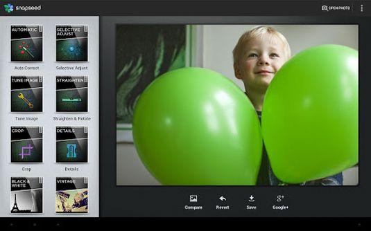 Snapseed, la migliore app fotografica per Android e iOS ora è gratis