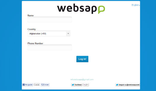 WebSapp, mandiamo messagi su WhatsApp dal web