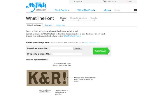 Come ritrovare il font perduto con What The Font